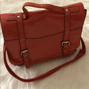 MOSSIMO Coral/Silver Hardware Bag